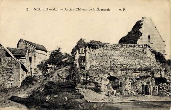 Neuil cartes postales anciennes d 39 indre et loire ancien for Legens materiaux anciens indre et loire